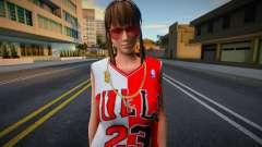 Hitomi Fashion Casual Chicago Bulls Jersey 2 para GTA San Andreas