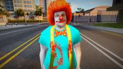 Handsome Eyes Killer Clown para GTA San Andreas