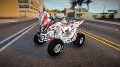 Yamaha Raptor Alexis Hernandez para GTA San Andreas