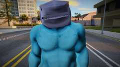 King Shark (The Suicide Squad) para GTA San Andreas