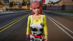 Dead Or Alive 5: Last Round - Honoka (pink) para GTA San Andreas