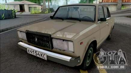 VAZ-2107 (Karelian ASSR) para GTA San Andreas