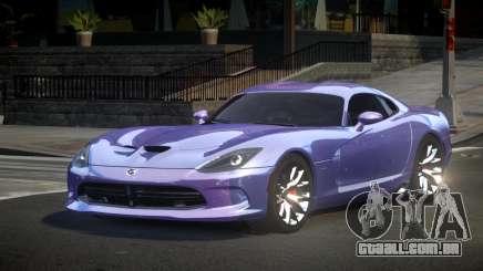 Dodge Viper SRT US S5 para GTA 4