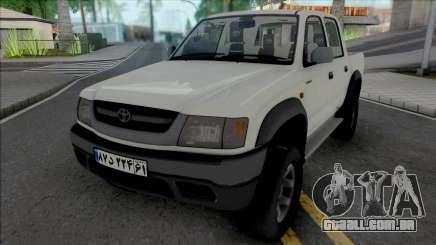 Toyota Hilux Double Cab 2001 para GTA San Andreas