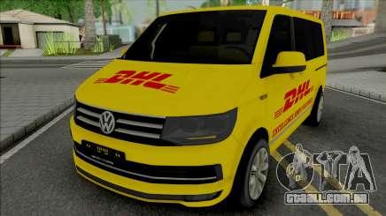 Volkswagen Transporter T6 DHL para GTA San Andreas