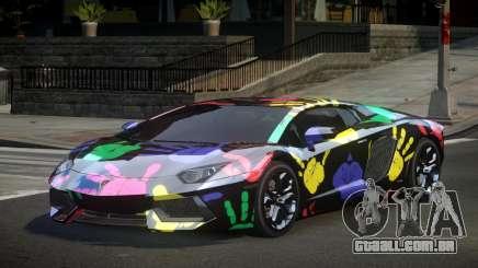 Lamborghini Aventador Zq S5 para GTA 4