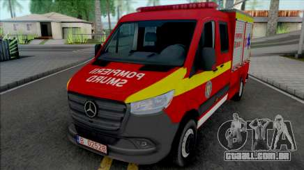 Mercedes-Benz Sprinter 2020 Pompierii SMURD para GTA San Andreas