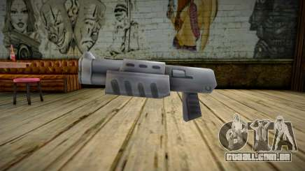 The Unity 3D - Chromegun para GTA San Andreas