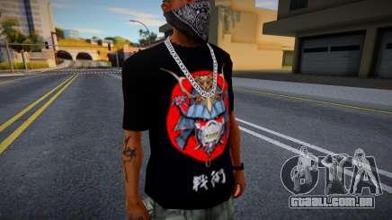 Senjutsu Iron Maiden T Shirt para GTA San Andreas