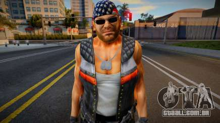 Dead Or Alive 5 - Bass Armstrong (Costume 1) 1 para GTA San Andreas