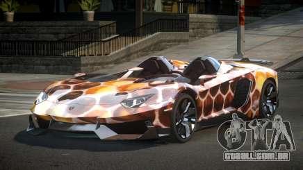 Lamborghini Aventador GST-J S9 para GTA 4
