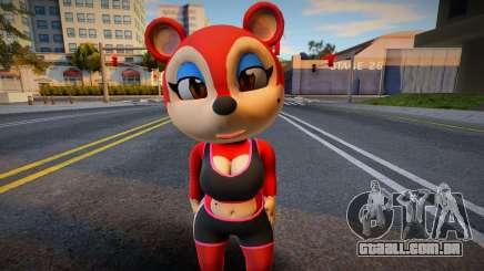 New Model Animal Crossing Fan Charater para GTA San Andreas