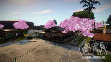 Beautiful Sakura Trees para GTA San Andreas