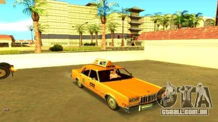 Dodge Diplomat 1987 Taxi para GTA San Andreas