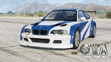 BMW M3 GTR (E46) Most Wanted v2.2b para GTA 5