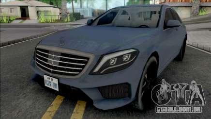 Mercedes-Benz S63 AMG 2014 Japan SA Style v2 para GTA San Andreas