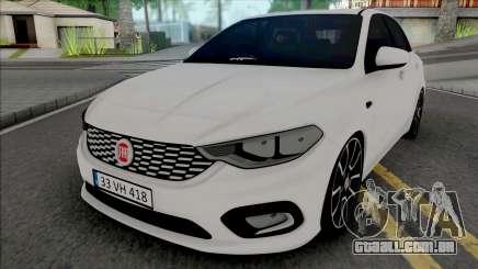 Fiat Tipo 2017 para GTA San Andreas