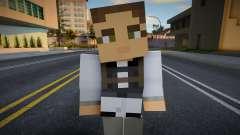 Medic - Half-Life 2 from Minecraft 2 para GTA San Andreas