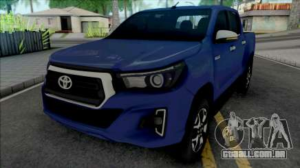 Toyota Hilux SRX 2019 para GTA San Andreas