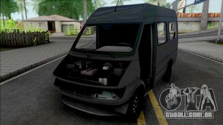 Mercedes-Benz Sprinter Burglar Van without Parts para GTA San Andreas