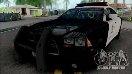 Dodge Charger SRT 2013 LAPD para GTA San Andreas