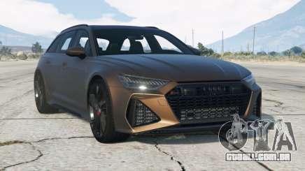 Audi RS 6 Avant (C8) V1.01 (Flex) 201〡9 para GTA 5