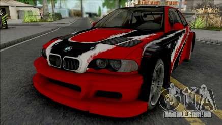 BMW M3 GTR Stacked Deck (NFS Carbon) para GTA San Andreas
