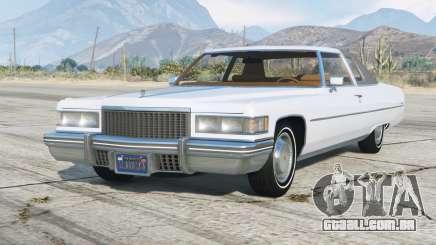 Cadillac Coupe de Ville 1975〡add-on v1.02 para GTA 5