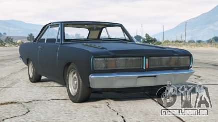 Dodge Charger RT 1972〡de Brasília〡add-on para GTA 5